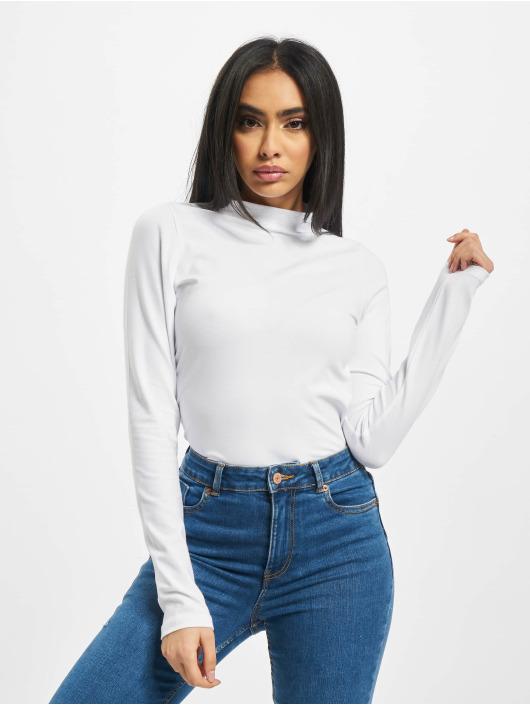 Only T-Shirt manches longues onlMaya Live Love blanc