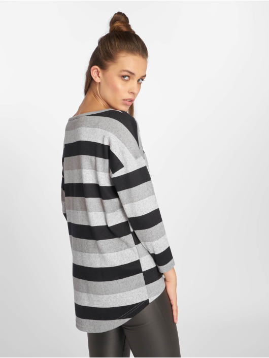 Only T-Shirt manches longues onlElcos 4/5 Jersey gris
