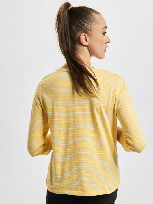 Only T-Shirt manches longues onlMary Life 3/4 jaune