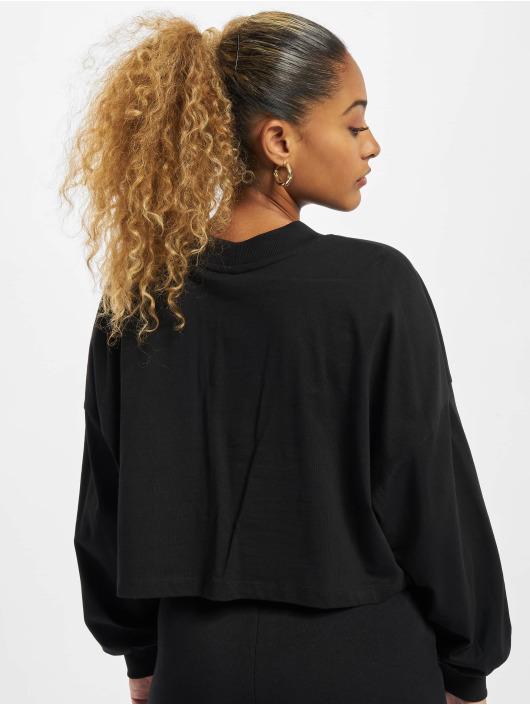 Only T-Shirt manches longues Vivi Life noir