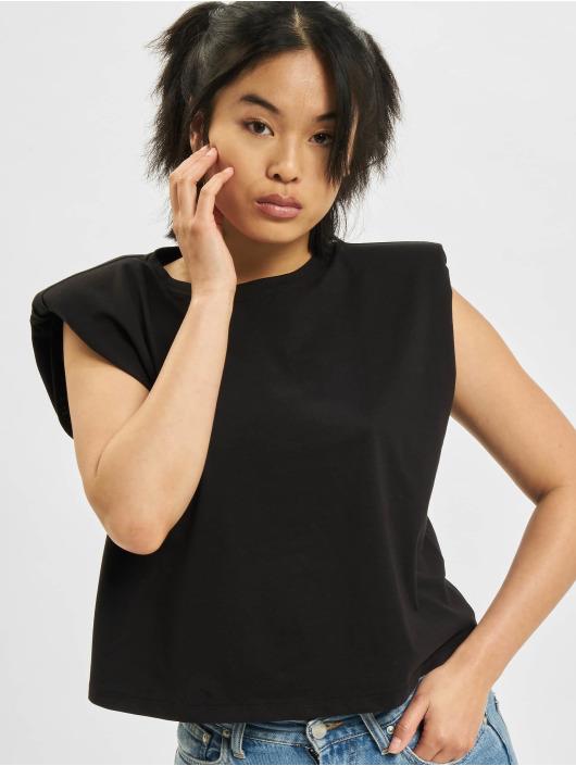 Only T-Shirt Jen Life Shoulderpad noir