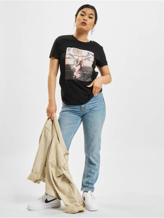 Only T-Shirt Lana Life Photo Top Box noir