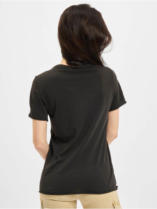 Only T-Shirt Life Flower Box JRS noir