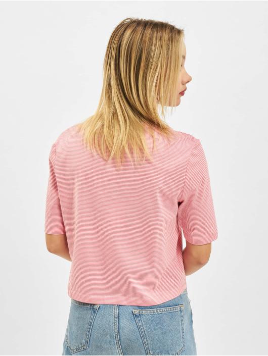 Only T-Shirt Onlfruity Life Stripe JRS pink