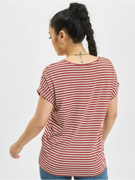 Only T-Shirt onlMoster Stripe red