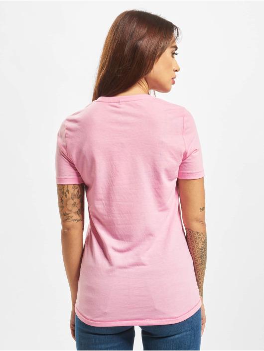 Only T-shirt onlLina Regular Print Box Li rosa
