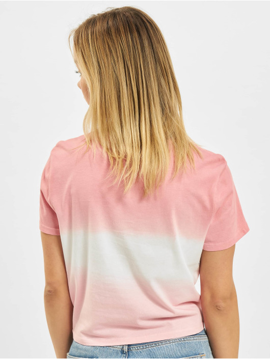 Only T-shirt Life Knot JRS rosa