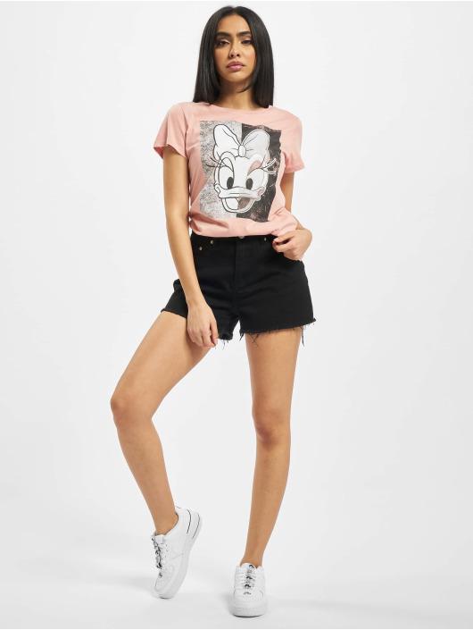 Only t-shirt onlDonald Daisy Face Jersey rose