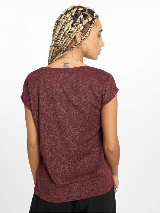 Only T-Shirt onlSilvery rouge