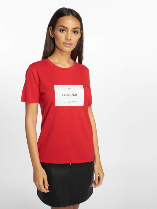 Only T-Shirt wfLux rouge