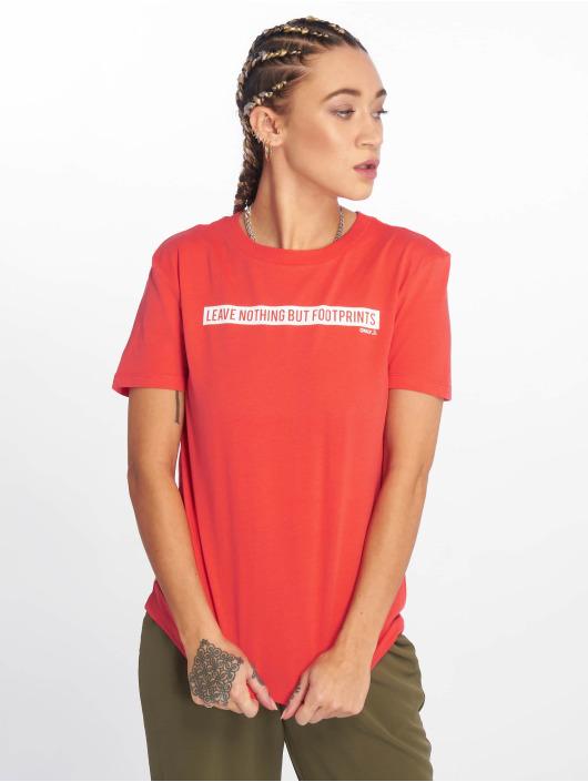 Only T-Shirt onlfSense Jersey rouge