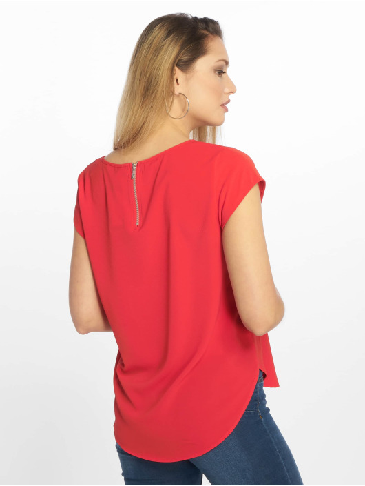 Only T-Shirt onlVic Solid Noos rouge