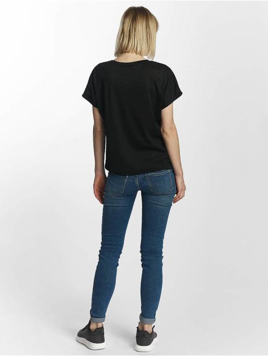 Only T-Shirt onlSilvery Disco schwarz