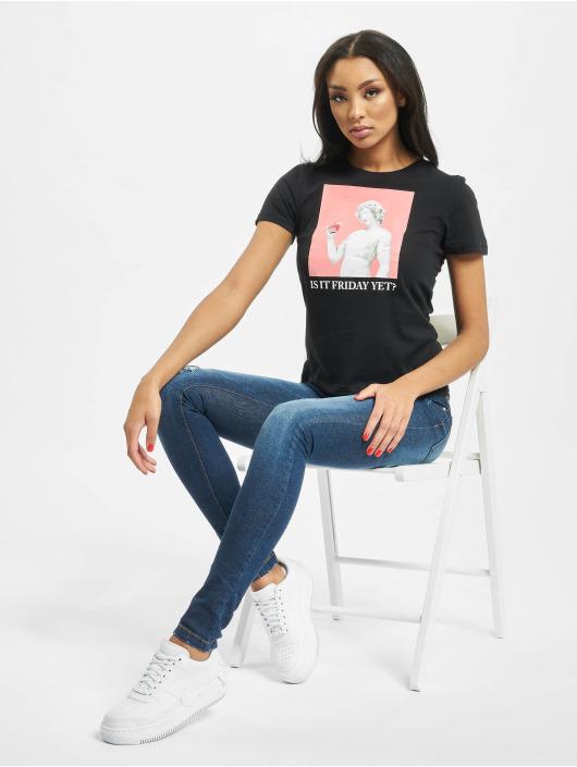 Only T-Shirt onlSadie Regular Photo schwarz