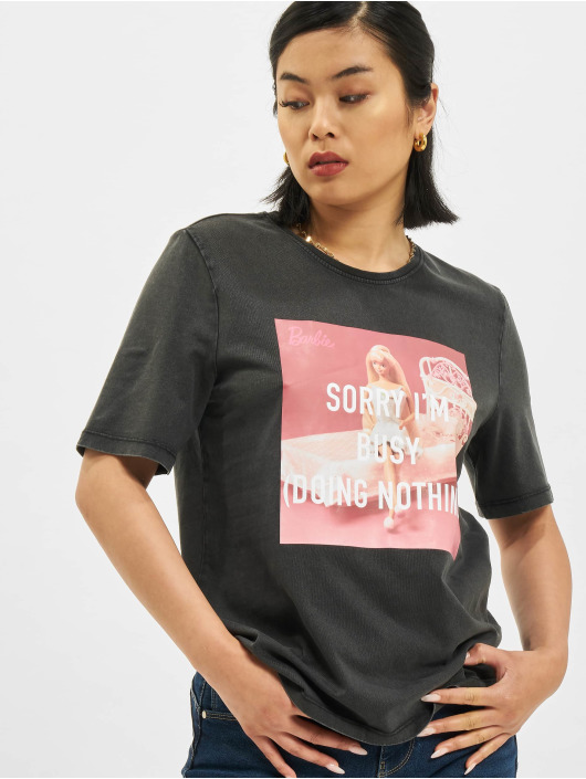 Only T-Shirt Only onlBarbie Life Boxy schwarz
