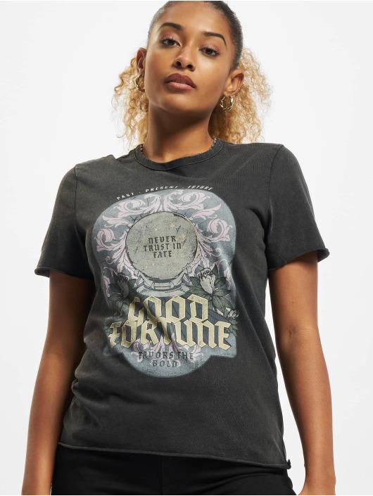Only T-Shirt Onllucy Fortune schwarz