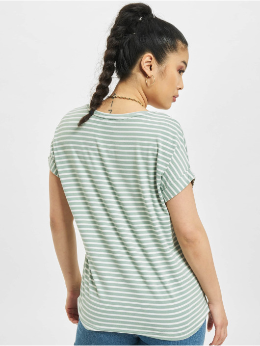 Only T-Shirt onlMoster Stripe turquoise