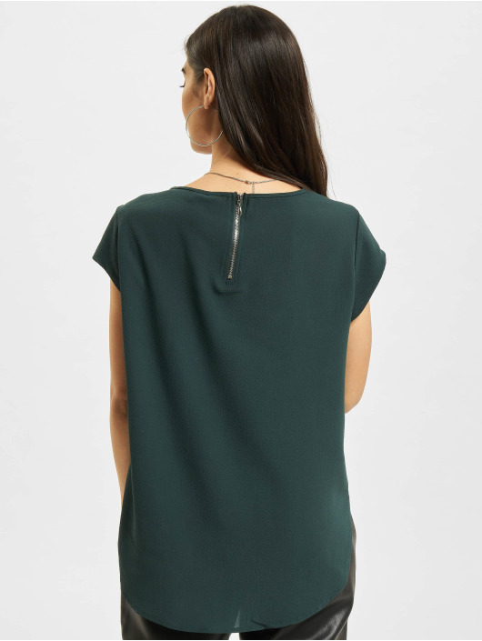 Only T-Shirt onlVic Solid Noos vert