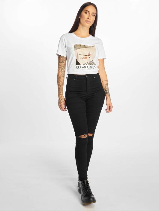 Only T-Shirt onlFrida weiß