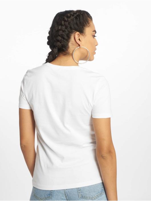 Only T-Shirt onlKita Regular Sequin Box Co weiß