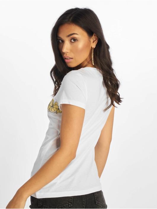 Only T-Shirt onlLima Fit Fruit weiß