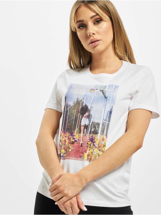 Only T-Shirt onlPriya Life weiß
