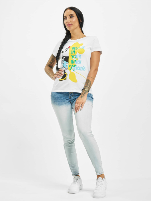 Only T-Shirt onlMinnie Box Jersey weiß