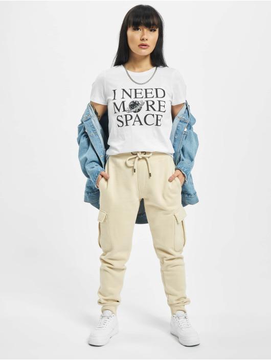 Only T-Shirt onlKita Life Reg Moon weiß