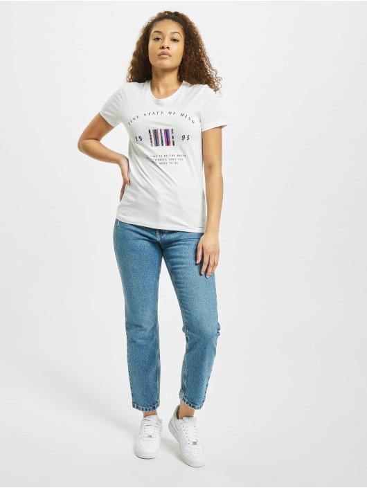 Only T-Shirt onlKita Life Reg Statement weiß