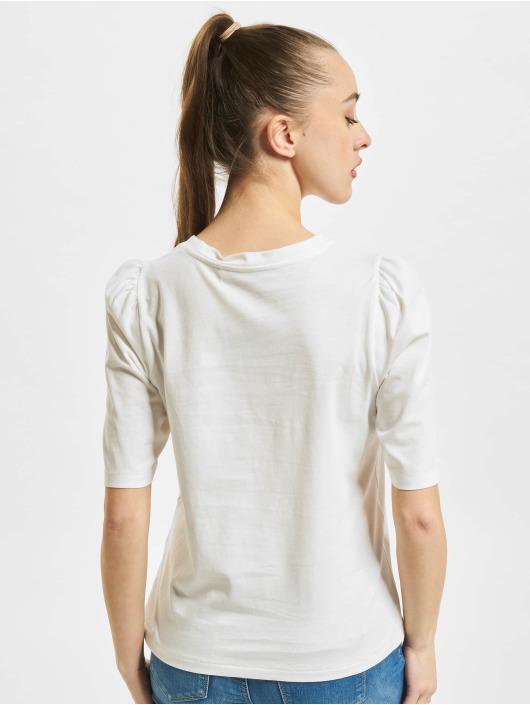 Only T-Shirt onlNora Pastel Life Vol Denim weiß