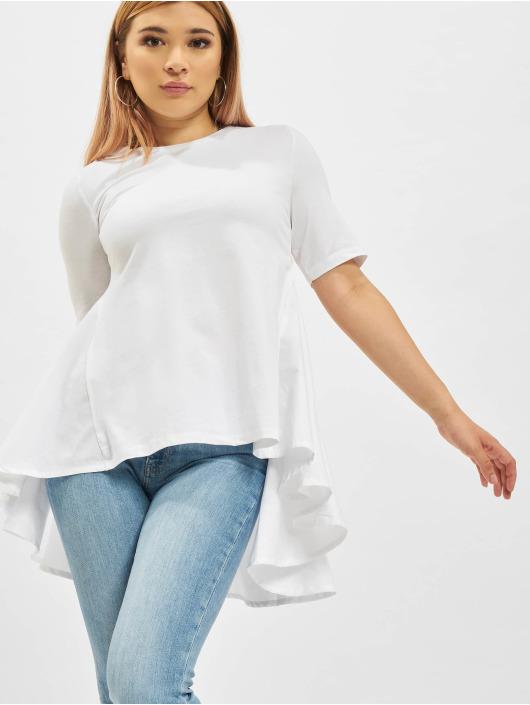 Only T-Shirt Essa Life Mix Top weiß