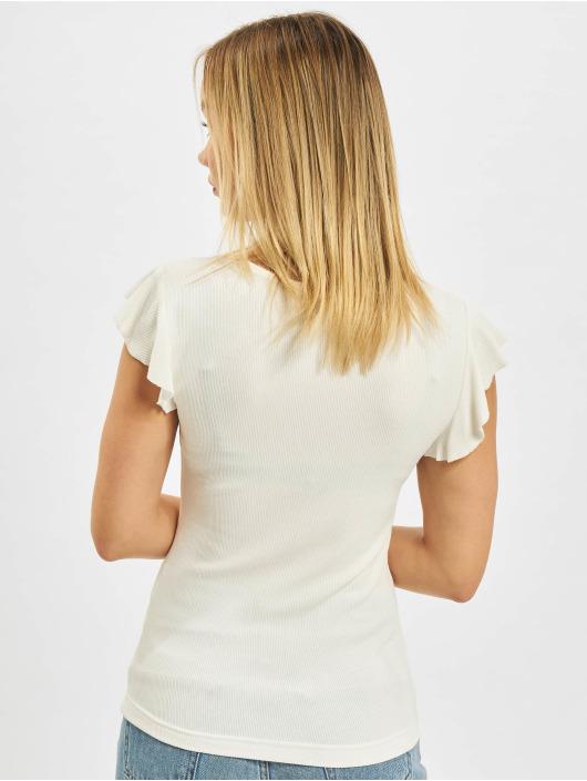 Only T-Shirt Belia Top weiß