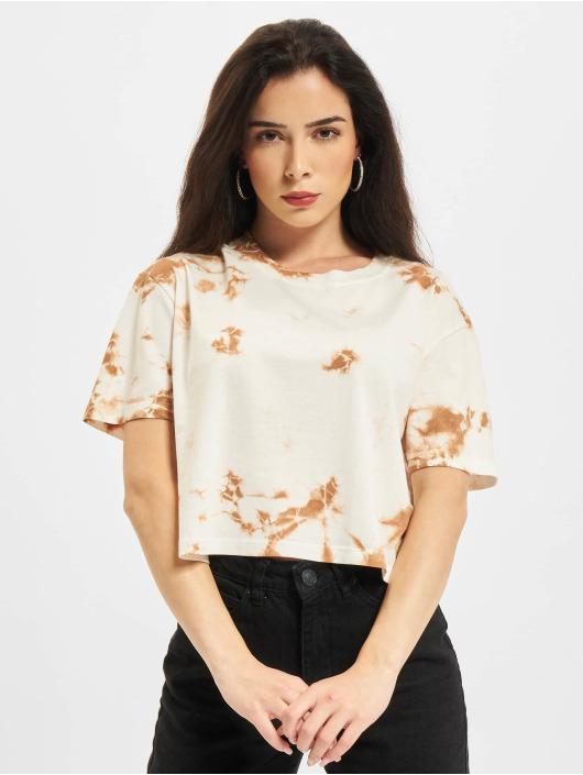 Only T-Shirt Onlfine Life JRS Short weiß