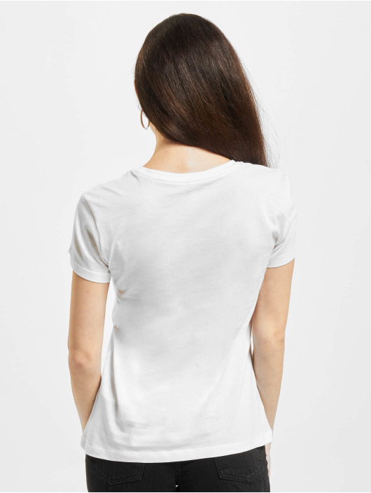 Only T-Shirt Onllux Life Fit JRS weiß