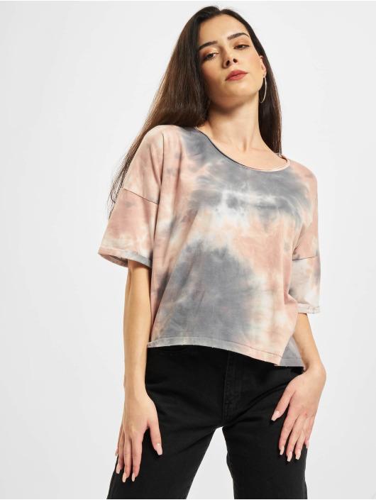 Only T-Shirt Onlzoey Life Falltie Dye weiß