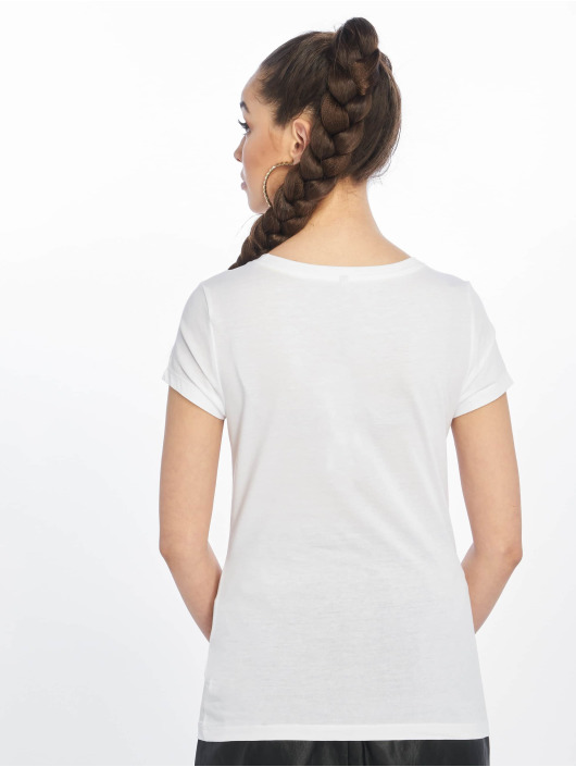 Only T-Shirt onlFancy Fit Face white
