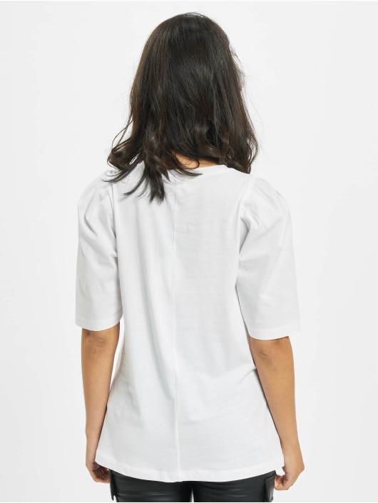 Only T-Shirt onlMinna 2/4 Mix Jersey white