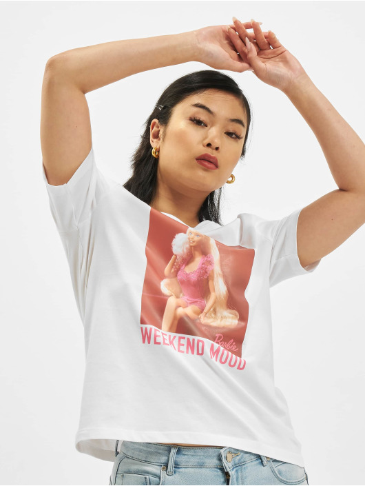 Only T-Shirt Only onlBarbie Life Boxy white