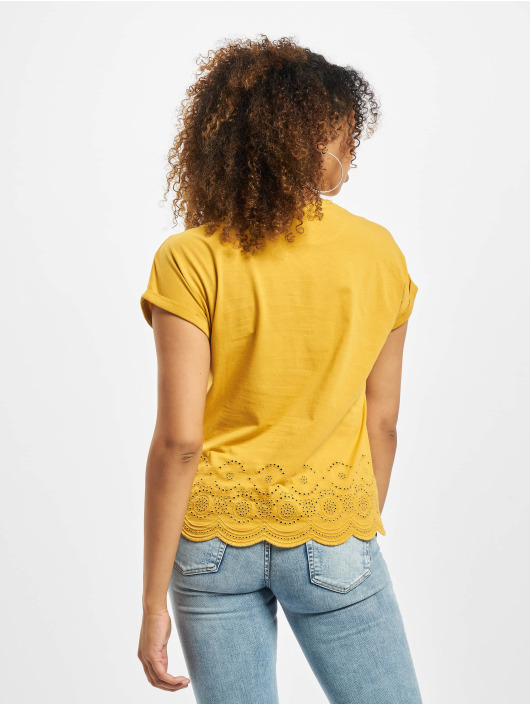 Only T-Shirt onlCosma Life Jersey yellow