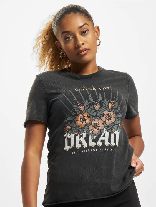 Only t-shirt Onllucy zwart