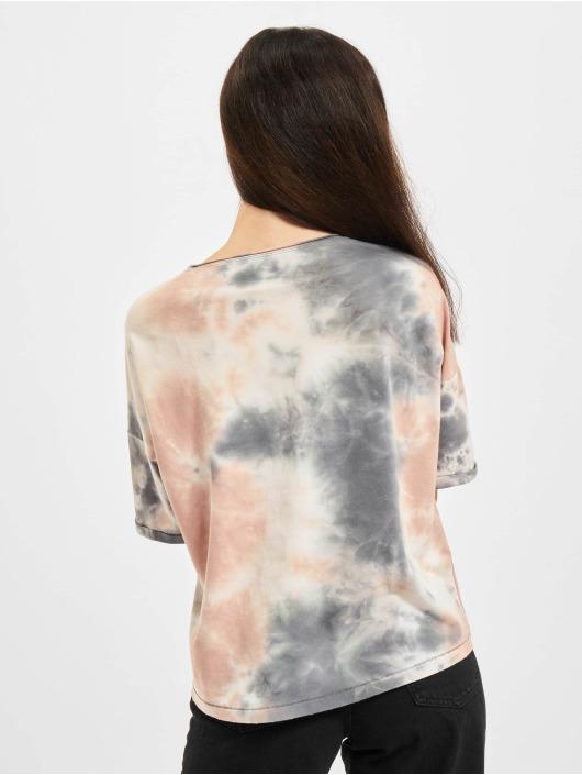 Only T-shirts Onlzoey Life Falltie Dye hvid