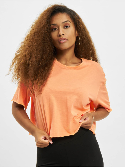 Only T-shirts Onlearth Life JRS Short orange