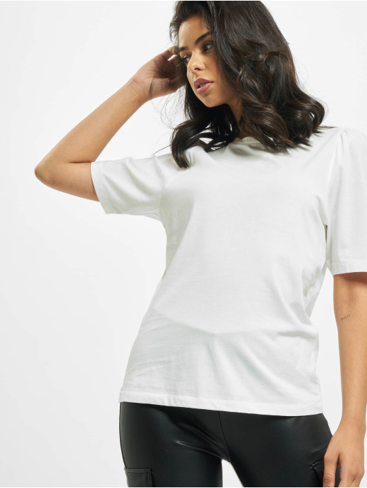 Only T-Shirty onlNora Life Volume Dnm bialy