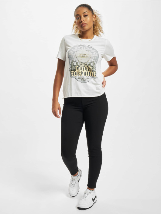 Only T-Shirty Onllucy bialy