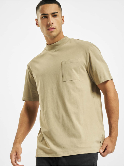 Only T-Shirty onsHigh brazowy