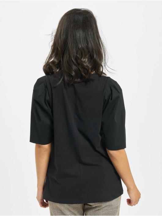 Only T-Shirty onlMinna 2/4 Mix Jersey czarny