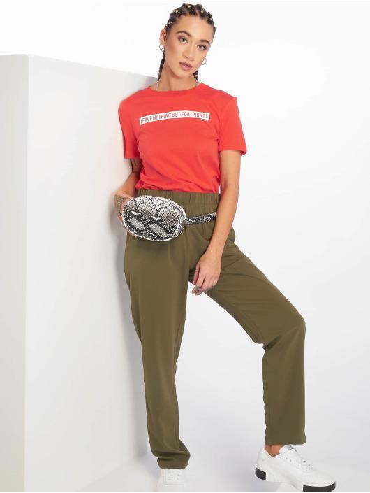 Only T-Shirty onlfSense Jersey czerwony