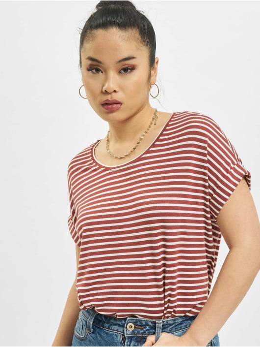 Only T-Shirty onlMoster Stripe czerwony
