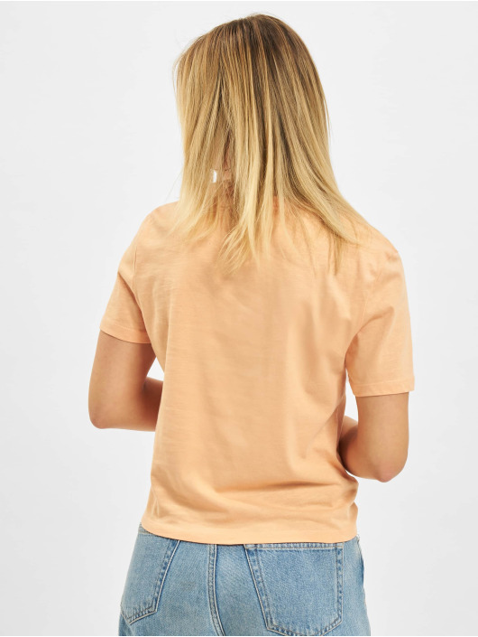 Only T-Shirty onlSilly Life Knot pomaranczowy