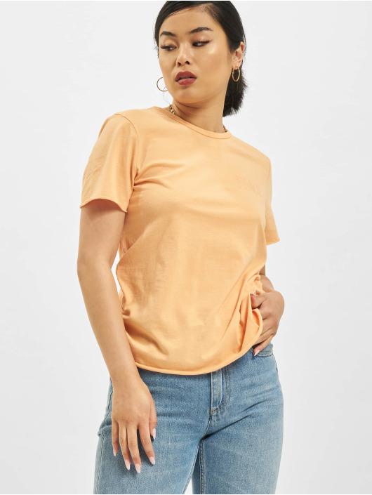 Only T-Shirty Fruity Life pomaranczowy